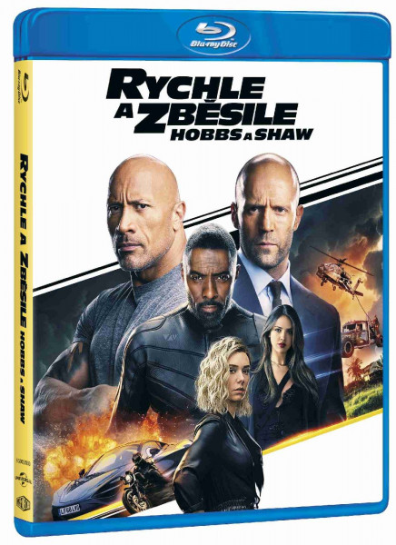 detail Rychle a zběsile: Hobbs a Shaw - Blu-ray