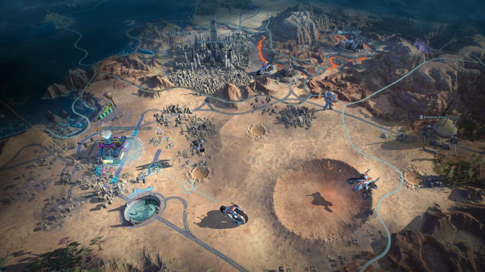 detail Age of Wonders: Planetfall - PS4